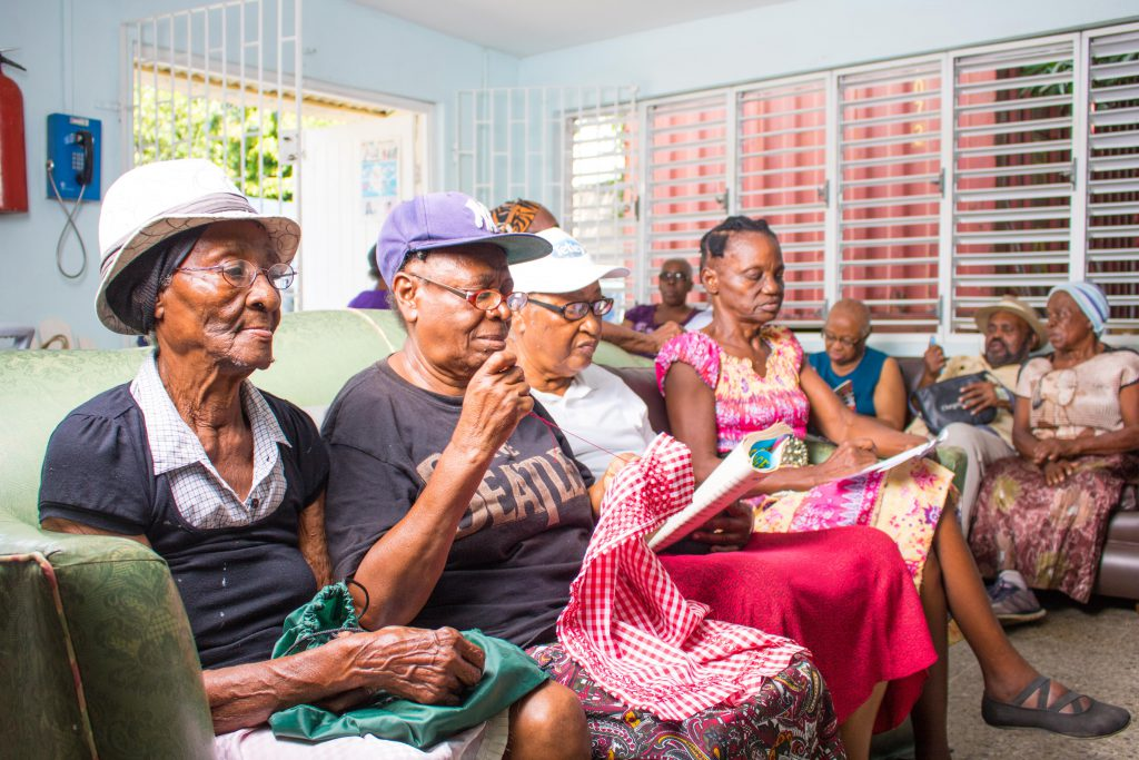 Seniors visit the NCSC Offices across the island to participate in a host of fun and refreshing daily activities