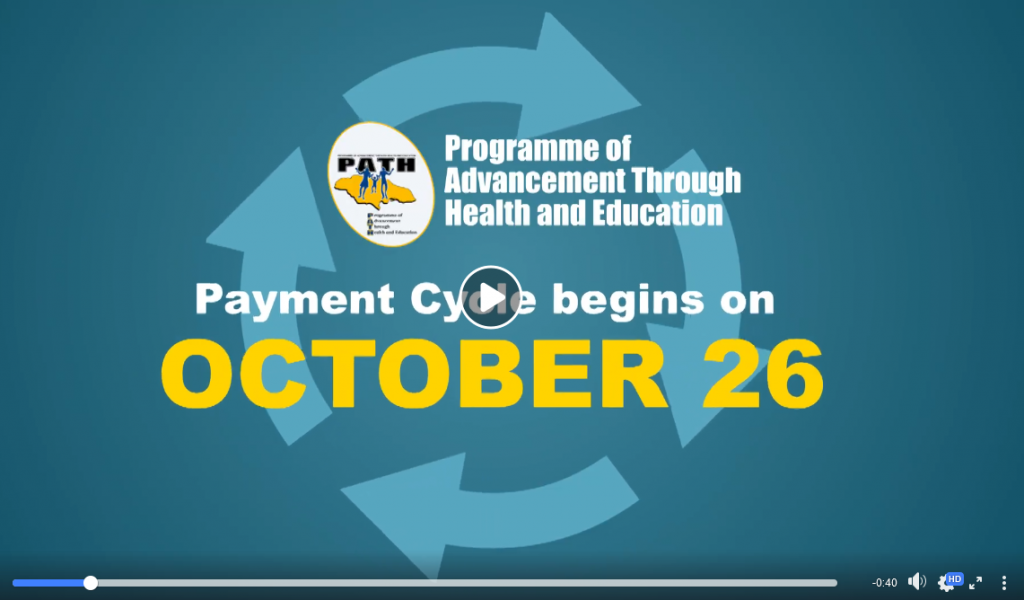 PATH Payment Cycle begins on October 26